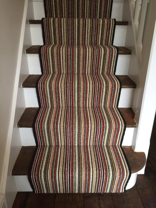 Kaleidoscope Stripe 100% Wool 1