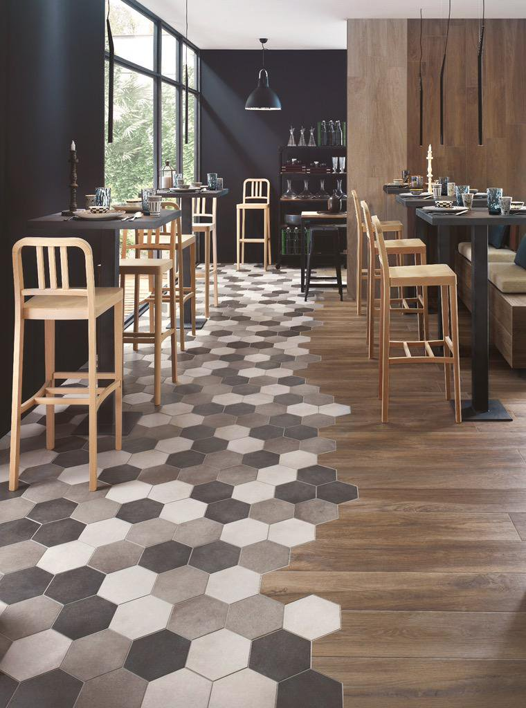 Polyflor Hexagonal tiles