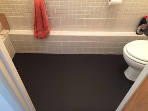 Marmoleum Tiles Floor 2 Touch Solo 3545 Coal 1
