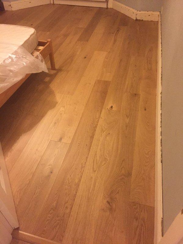 V4 Wood Flooring A110 15mm Matt Lacquered Oak