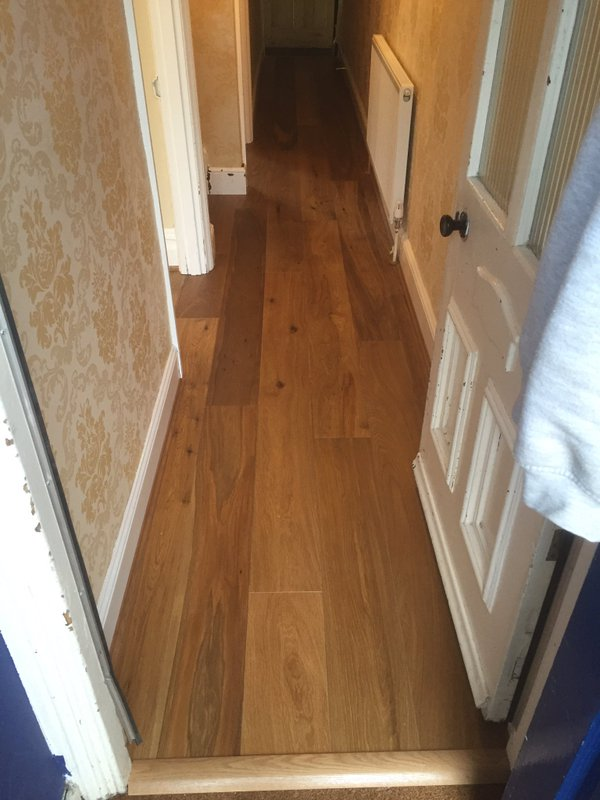 Woodpecker Harlech Smoked Oak